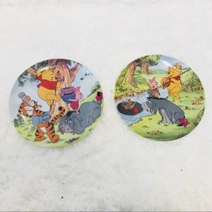 Winnie The Pooh collectible plates set